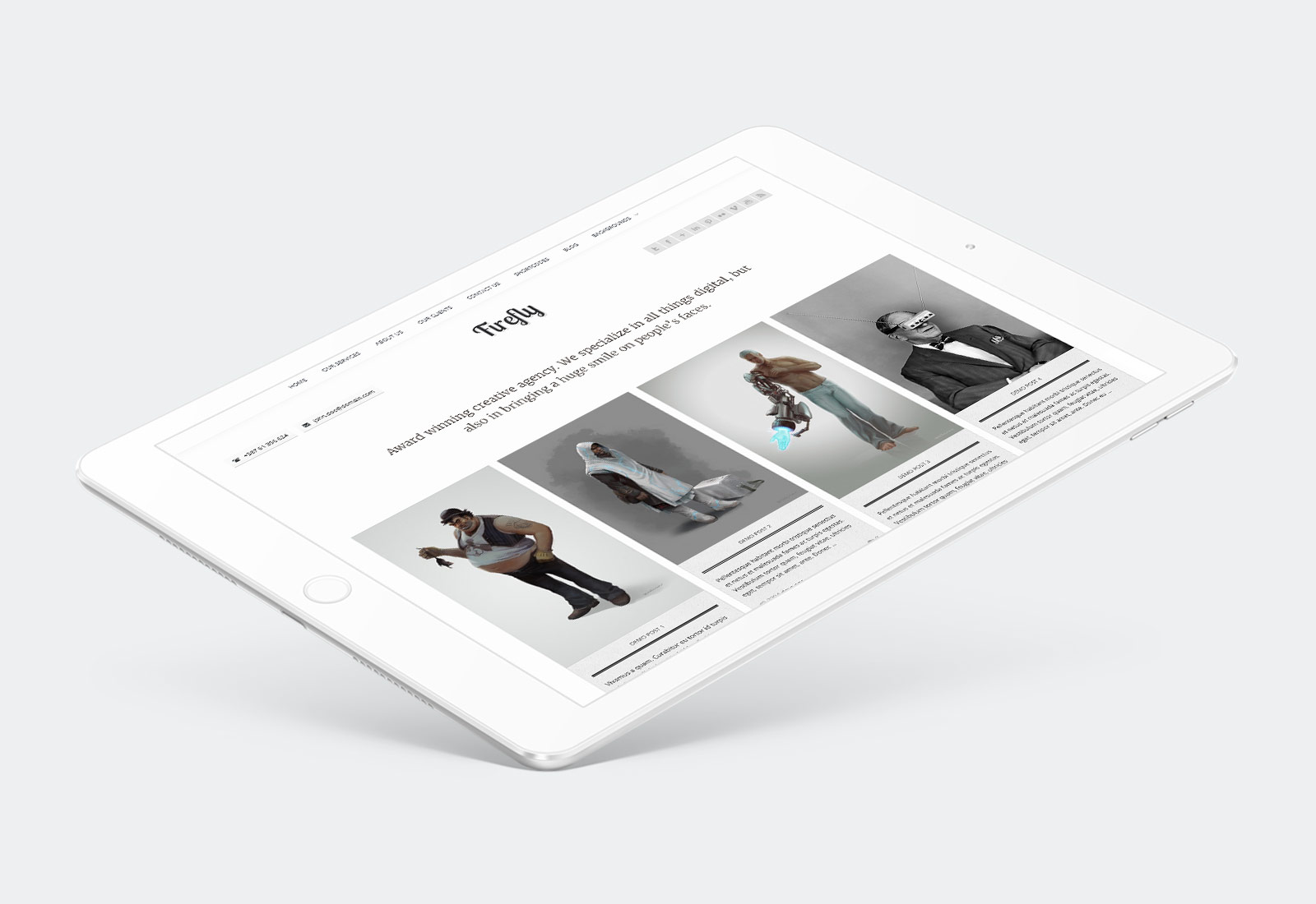 Firefly WordPress Theme