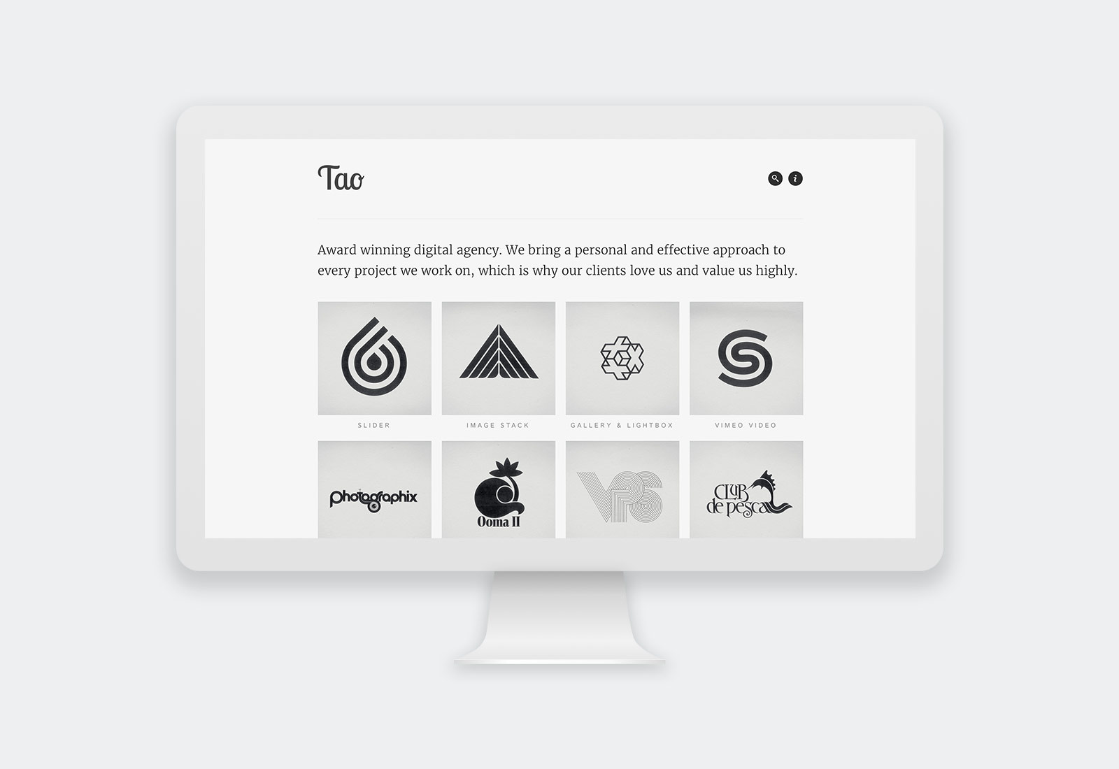 Tao WordPress Theme