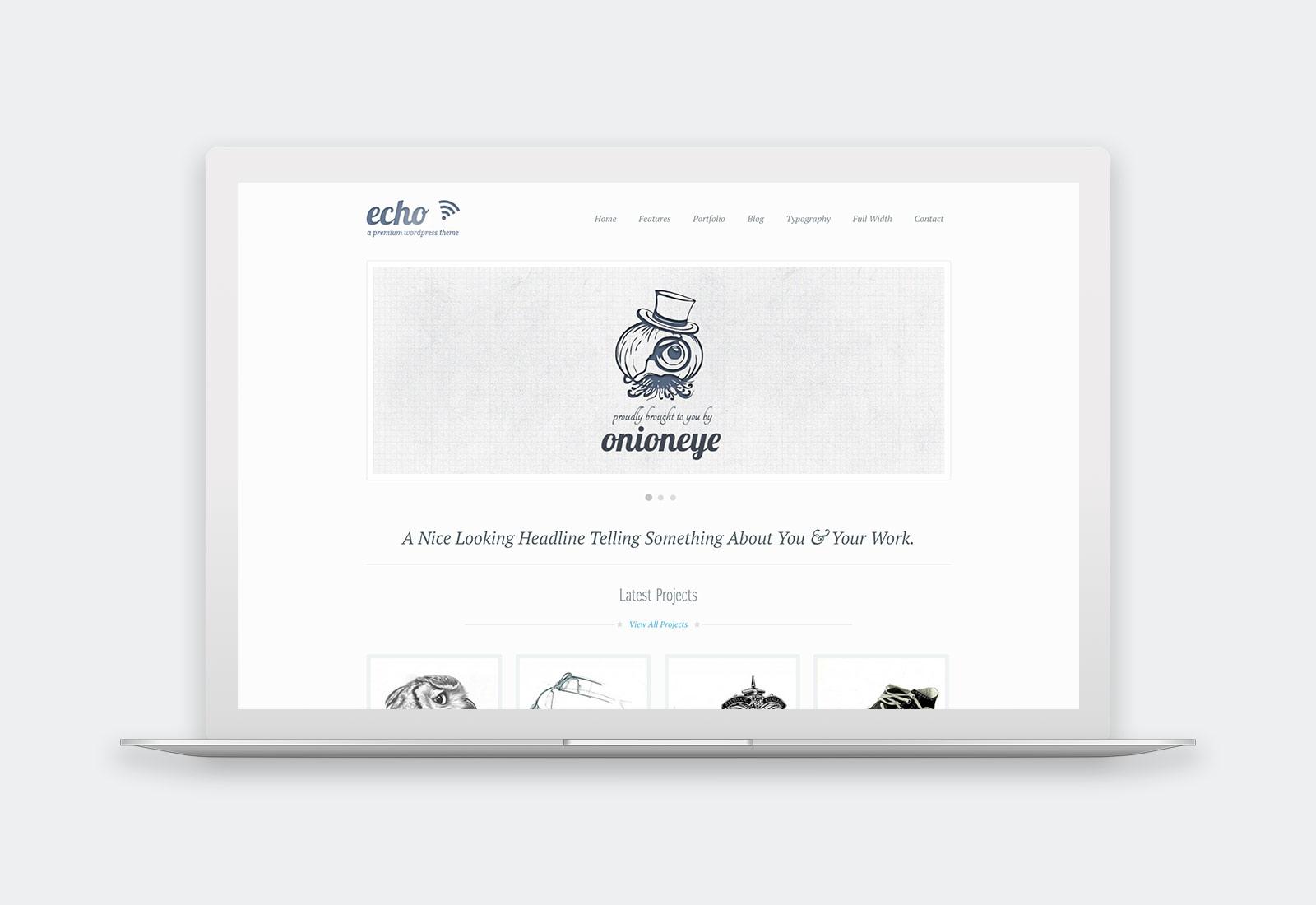 Echo WordPress Theme