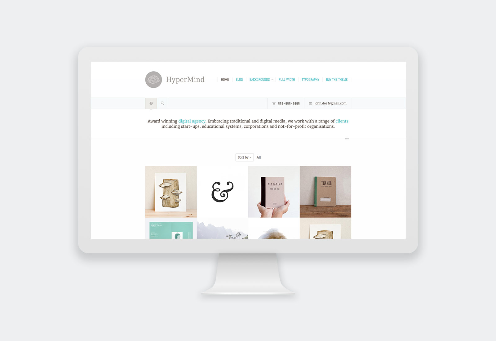 HyperMind WordPress Theme