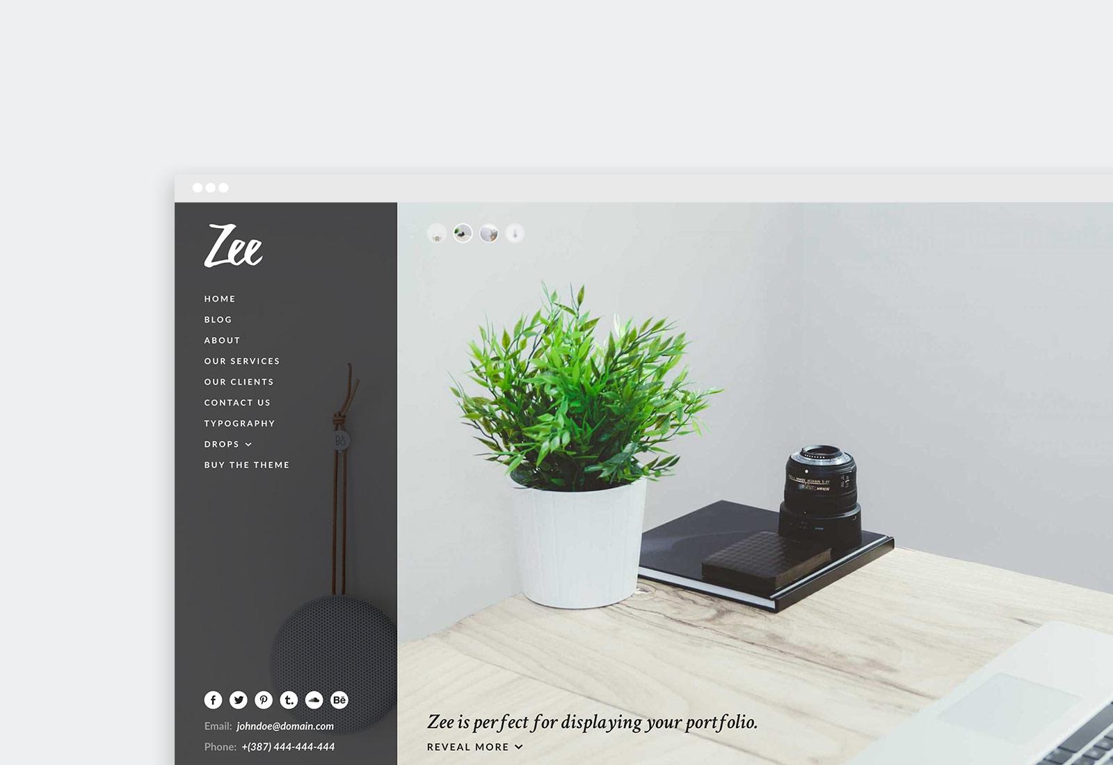 Zee WordPress Theme
